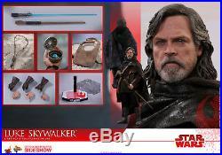 Hot Toys Luke Skywalker Star Wars Last Jedi 1/6 Scale Figure Double Boxed