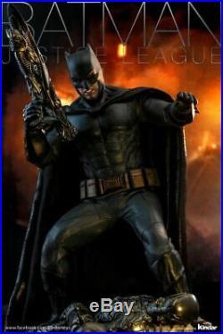 Hot Toys MMS456 DC Justice League Batman Deluxe 1/6 Scale Ben Figure Double Box