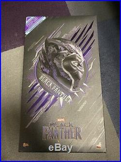 Hot Toys MMS470 Marvel Black Panther 1/6 Scale 12 Figure Chadwick Boseman MIB
