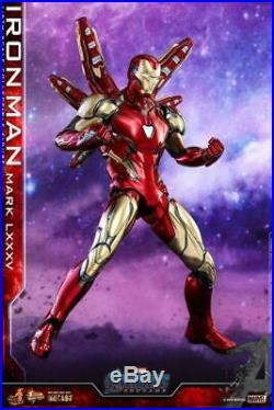 Hot Toys MMS528D30 Avengers Endgame 1/6 Scale Iron Man Mark MK85 12 Figure Toys
