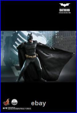 Hot Toys QS009 1/4 Scale Batman Begins Bruce Wayne Christian Bale Figure NEW