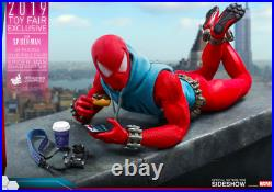 Hot Toys Spiderman Scarlet spider suit 16 Scale Exclusive