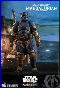 Hot Toys Star Wars The Mandalorian Heavy Infantry Mandalorian 1/6 Scale Figure