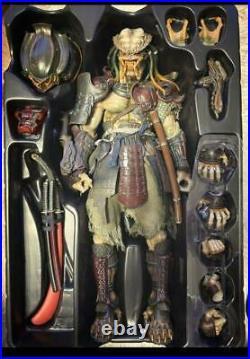 Hot Toys TAKAYUKI TAKEYA x YUJI AVP Samurai Predator 1/6 Scale 12 Figure Used