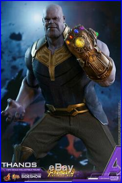 Hot Toys Thanos Infinity War Avengers Marvel 1/6 Scale Figure New In Stock