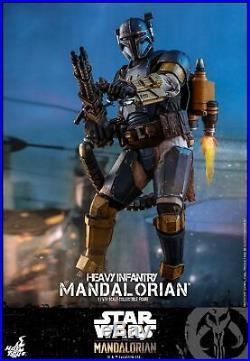 Hot Toys The Mandalorian 1/6th scale Heavy Infantry Mandalorian Figure TMS010