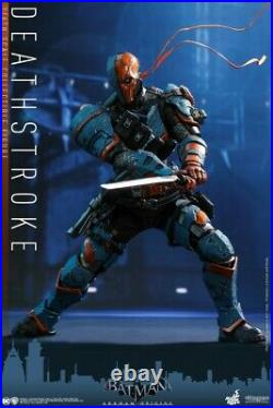 Hot Toys VGM30 1/6th Scale Batman Deathstroke Action Figure Collectible