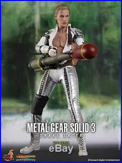 Hot Toys Vgm14 Metal Gear Solid 3 Snake Eater The Boss 1/6th Scale Collectible