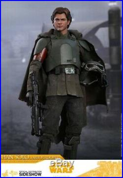 Hot toys Star Wars Han Solo Mudtrooper Sixth Scale Action Figure BRAND NEW