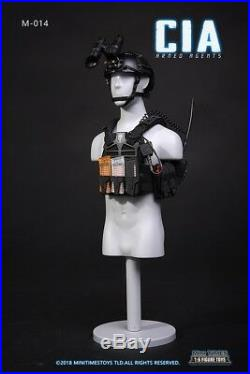 In-Stock 1/6 Scale MINI TIMES TOYS MT-M014 CIA Armed Agent 12in Action Figure
