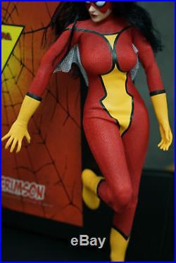 In-Stock 1/6 Scale Toys Era TE020 Lady Crimson 12in Action Figure