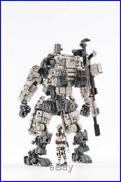(In-Stock @5zeroToys) JOYTOY 125 Scale Steel bone Armor (White) With Pilot