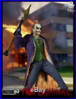 In-stock 1/12 Scale Bullet Head BH001 Joker Action Figure