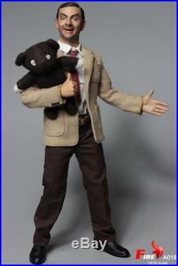 In-stock 1/6 Scale FIRE A018 MR. BEAN Rowan Atkinson 12IN Action Figure