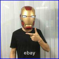 Iron Man 11Scale Wearable Open Close MK42 Helmet Toys Cosplay model Figure