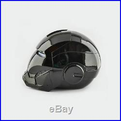 Iron Man MK7 Helmet Black Edition Collectable 11 Scale Wearable Open Close