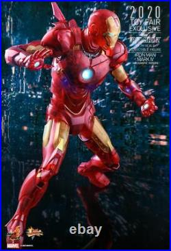 Iron Man Mark IV (Holographic Version) MM 1/6 Scale Hot Toys Exclusive Figure