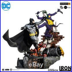 Iron Studios Batman vs Joker 1/6 Scale DC Comics Ivan Reis Diorama Sideshow New