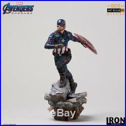 Iron Studios Captain America Deluxe BDS Art Scale 1/10 Avengers Endgame Statue