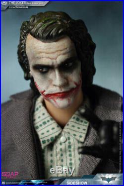 Joker Batman Dark Knight Soap Studio 1/12 Scale Figure 6'' Bank Robber Version