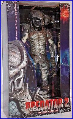 MISP NECA WARRIOR PREDATOR 2 Lost Tribe 1/4 Scale 18 inch movie action figure