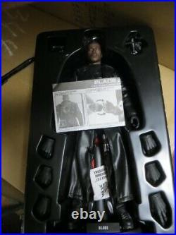Marvel Blade 2 Wesley Snipes 1/6 scale Figure Hot toys Rare item Excellent