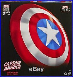 Marvel Captain America Full Scale Replica Shield Legends Series Toy NEW