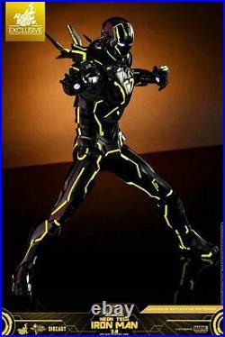 Marvel Neon Tech IRON MAN 2.0 Movie Masterpiece 1/6 Sixth Scale Figure Hot Toys