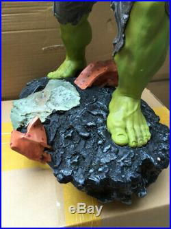 Marvel Super Size Hulk Green Giant Figure Statue 1/4 Scale Toy 60cm Collection
