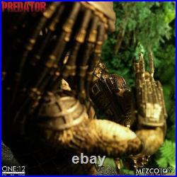 Mezco ONE12 COLLECTIVE Predator Deluxe Edition 6 inch scale figure PRESALE new
