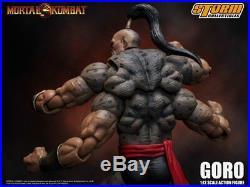 Mortal Kombat Goro 112 Scale Action Figure Storm Collectibles