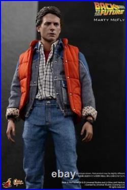 Movie Masterpiece Back To The Future Marty McFly Figure 1/6 Scale Hot Toys 2015