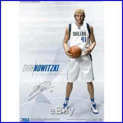 NBA x Enterbay Dirk Nowitzki 1/6 Scale 12 Inch Figure white