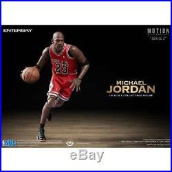 NBA x Enterbay Michael Jordan 1/9 Scale 9 Inch Figure