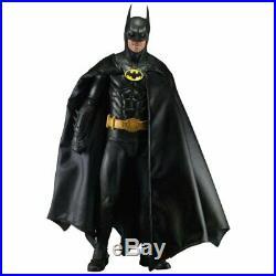 NECA 1989 Movie Comics Batman Michael Keaton 1/4 Scale Action Figure Toy 61241