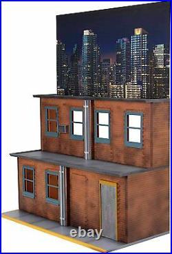 NECA Originals Street Scene Diorama Scaled for 6-9 Action Figures