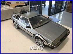 NEW Back The Future BTTF Hot Toys DeLorean Car Time Machine 16 Scale MMS260