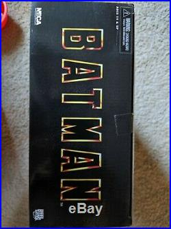 Neca Batman 1989 Michael Keaton 1/4 Scale Figure New Sealed