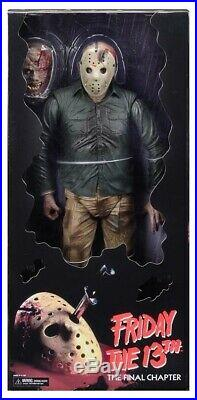 Neca Friday The 13th Part 4 JASON VOORHEES Final Chapter 1/4 Scale Figure 18