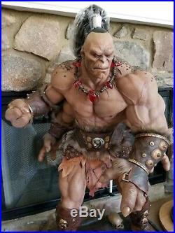 PCS Pop Culture Shock MKX Mortal Kombat Goro 1/3 Scale Statue Sideshow Figure