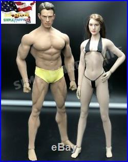 PHICEN TBLeague 1/6 scale Steel Skeleton SEAMLESS Figure Body Doll setUSA