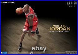 PRE-ORDER NBA Motion Masterpiece Michael Jordan 1/9 Scale Figure by ENTERBAY