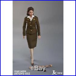 Pre-order 1/6 Scale JXTOYS 032 Peggy Carter Action Figure
