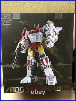 Pre-order Transformers Zeta Toys ZB06 MP Scale Superion Superitron Gift Box