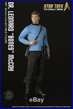 Quantum Mechanix Star Trek TOS Dr. Leonard Bones McCoy 1/6 Scale Figure QMx