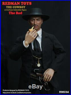 REDMAN TOYS 1/6 Scale Figures Lee Van Cleef Cowboy The good The bad imimine