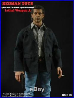 REDMAN TOYS RM015 1/6 Scale Lethal Weapon Mel Columcille Gerard Gibson Head Suit