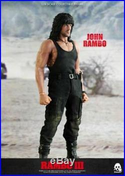 Rambo III John Rambo 16 Scale Action Figure by ThreeZero PREORDER FREE US SHIP