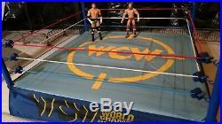 Real custom wrestling ring real elite scale wwe wwf wcw tna ecw nxt roh AEW