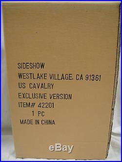 SIDESHOW Exclusive US CAVALRY 6th MICHIGAN 1/6 SCALE FIGURE 12 in Civil WAR